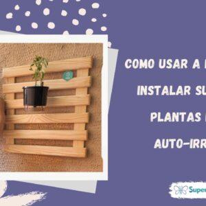 Como usar uma furadeira, instalar supote de plantas e vaso auto-irrigável | SuperSis